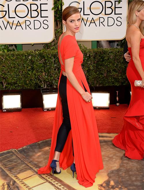 EMMA WATSON, Golden Globes 2013 Ellas
