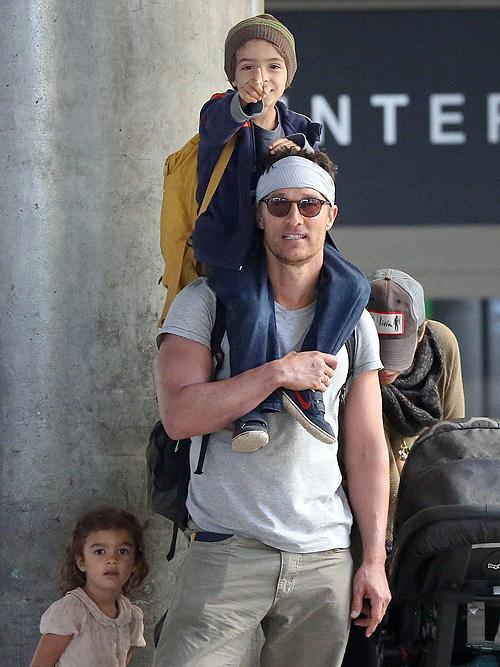 Matthew McConaughey, Camila Alves, Vida, Levi, Míralos