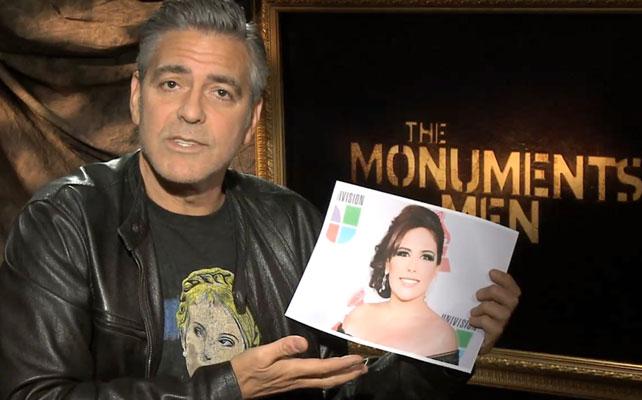 George Clooney, Angélica Vale