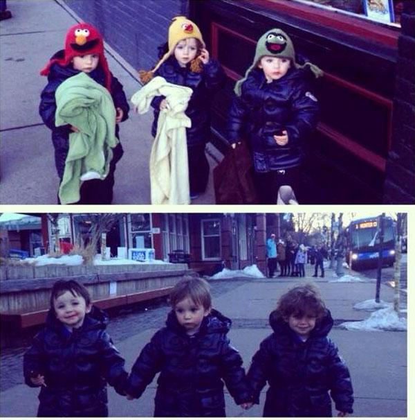Inés Gómez Mont, Javier, Diego, Bruno, Bebés en Instagram