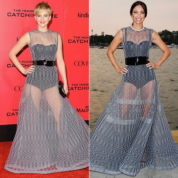 Jennifer Lawrence, Erica Packer, Dos mujeres