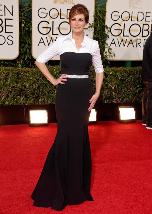 Golden Globes 2013 Ellas, JULIA ROBERTS