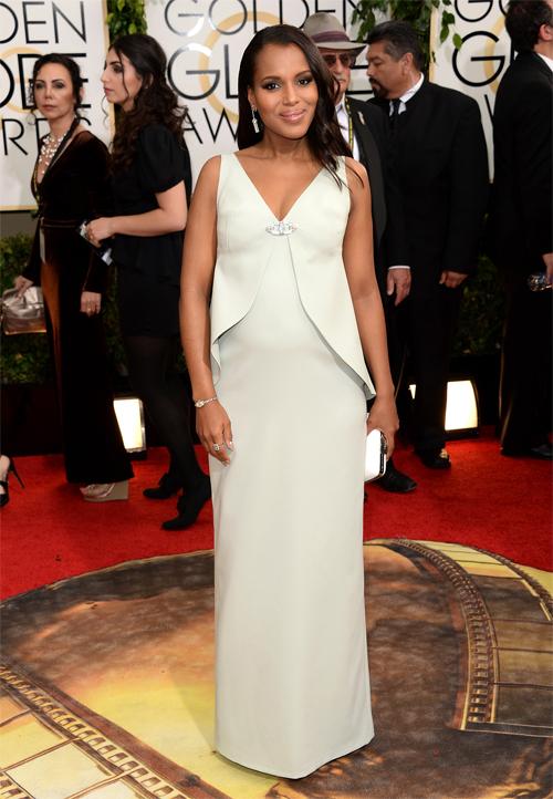 KERRY WASHINGTON, Golden Globes 2013 Ellas