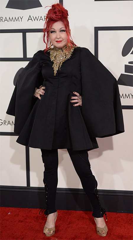 Premios Grammy 2014 ellas, CYNDI LAUPER