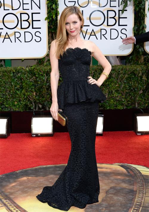 Golden Globes 2013 Ellas, LESLIE MANN