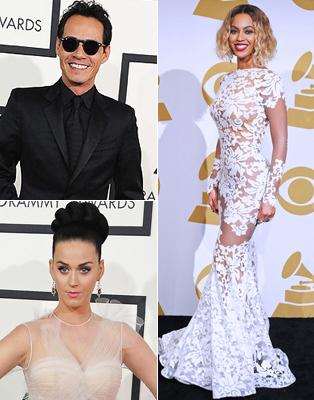 Grammy 2014 Mejor Vestidos