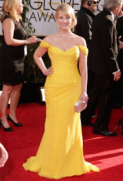 Golden Globes 2013 Ellas, MELISSA RAUCH
