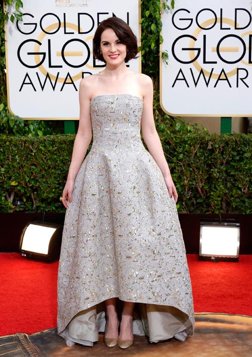 Golden Globes 2014 ellas, MICHELLE DOCKERY