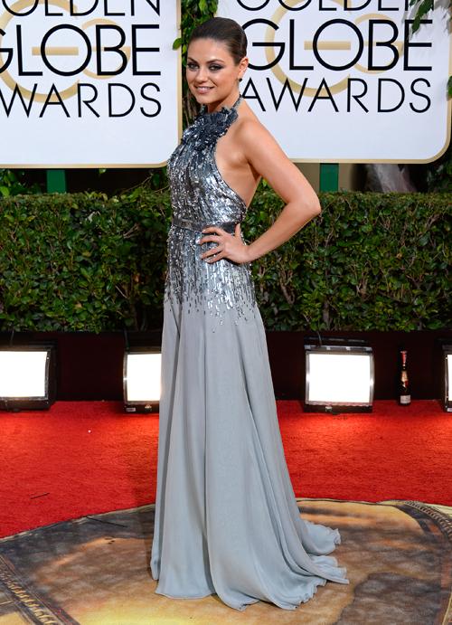 MILA KUNIS, Golden Globes 2013 Ellas