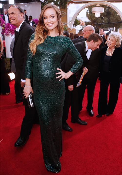 Golden Globes 2013 Ellas, OLIVIA WILDE