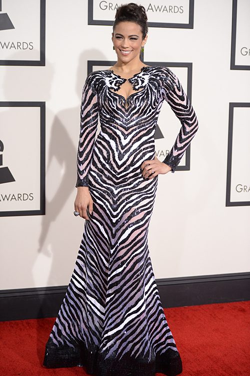 Premios Grammy 2014 ellas, PAULA PATTON