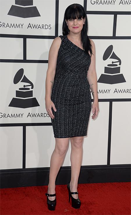 Premios Grammy 2014 Ellas, Pauley Perrette