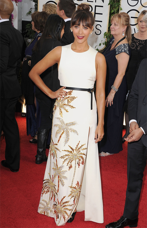 Golden Globes 2013 Ellas, RASHIDA JONES