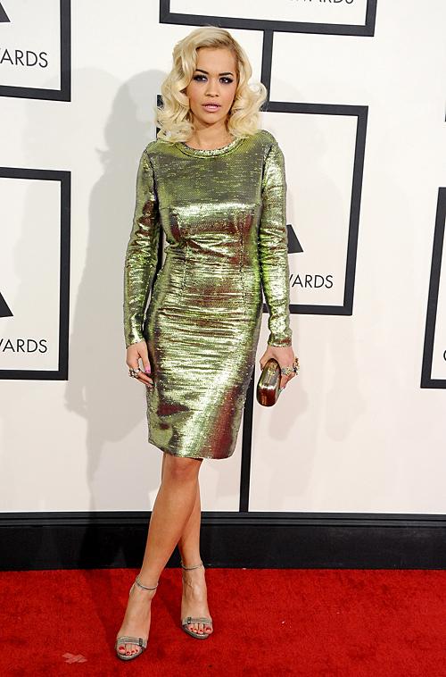 Grammy 2014 Ellas, RITA ORA
