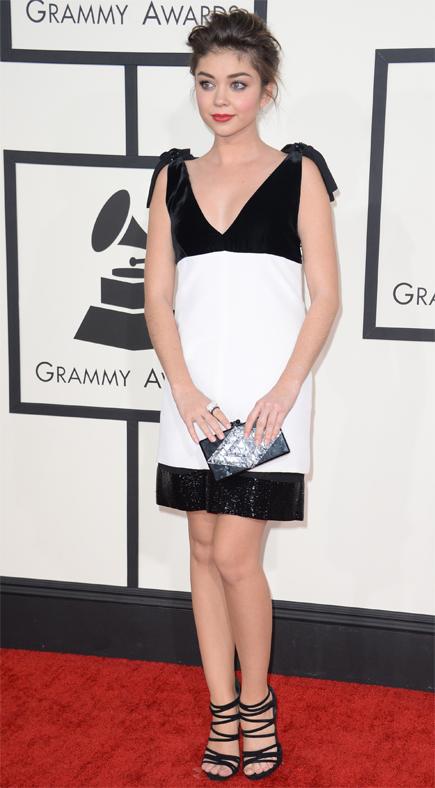 Premios Grammy 2014 ellas, SARAH HYLAND