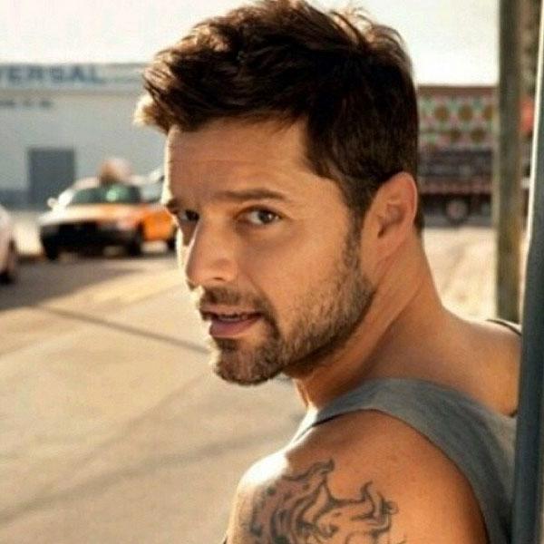 Ricky Martin, sin filtro