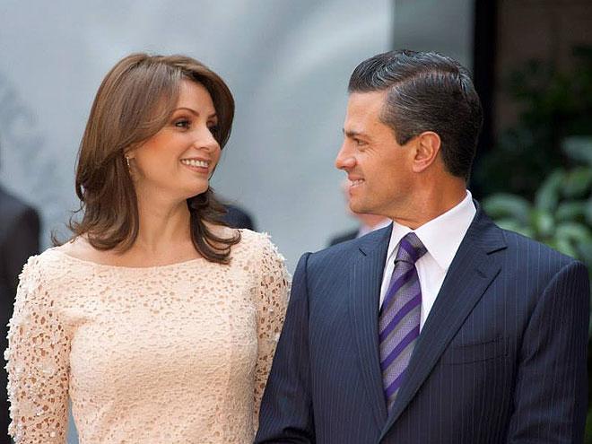 Angélica Rivera, Enrique Peña Nieto, Sin filtro