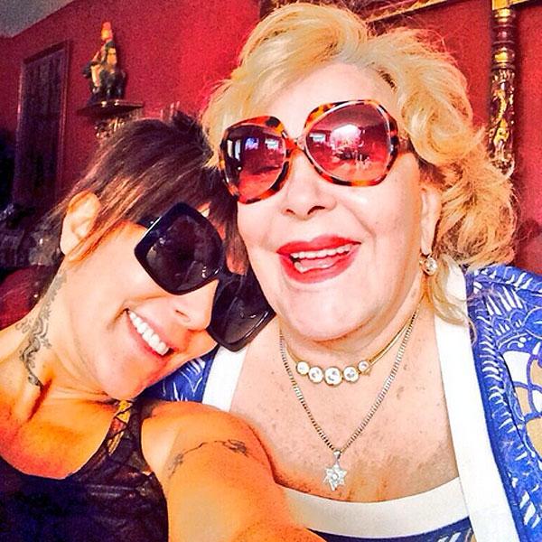Alejandra Guzmán, Silvia Pinal, Sin filtro