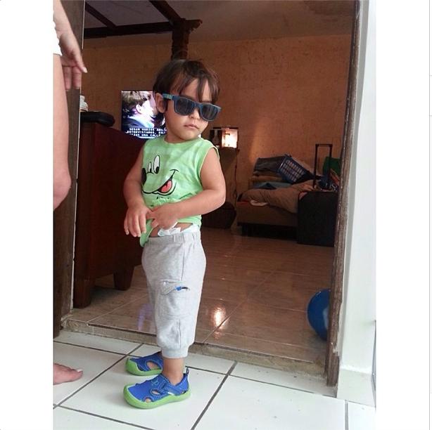 Gabriel Efraín, Bebés en Instagram