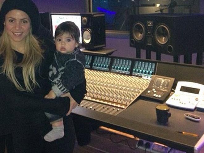 Shakira, Milan, sin filtro