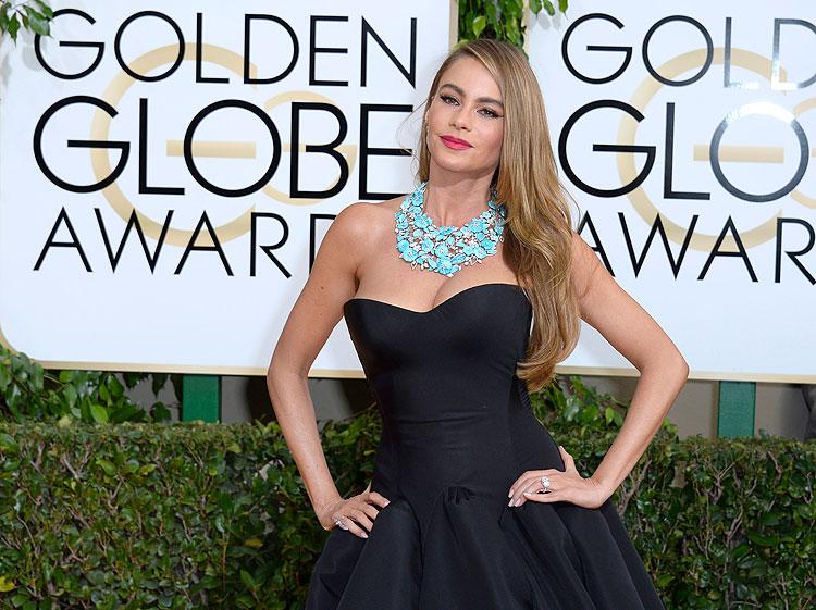 Sofía Vergara, Globos de Oro, Golden Globes, 2014