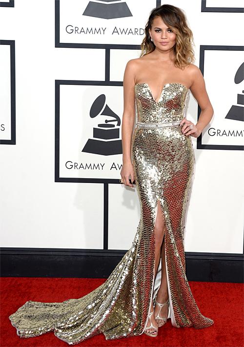 Premios Grammy 2014 ellas, Chrissy Teigen
