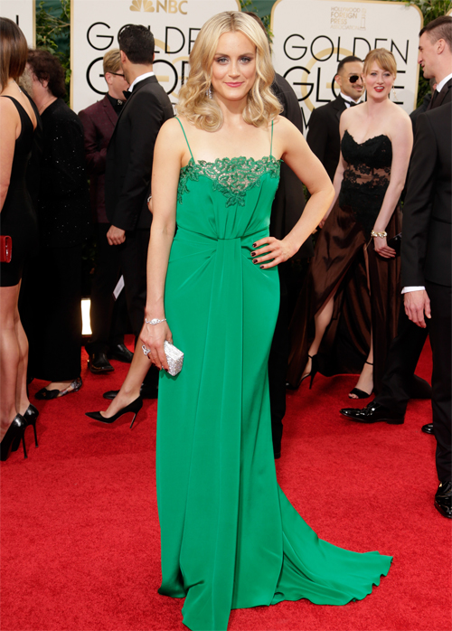 Taylor Schilling, Golden Globes 2013 Ellas