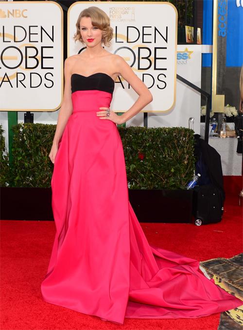TAYLOR SWIFT, Golden Globes 2013 Ellas
