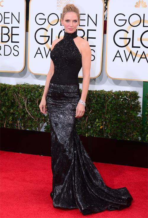 Golden Globes 2013 Ellas, UMA THURMAN