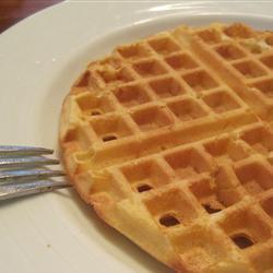 Waffles de jocoque