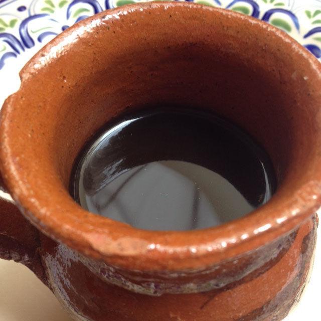 Café de olla con chocolate
