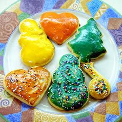 Pintura de yema para galletas