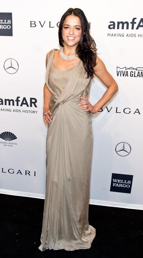 Michelle Rodríguez, El look del día