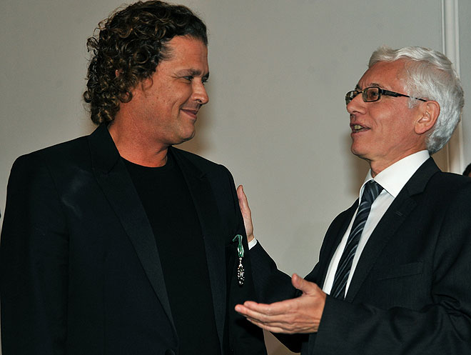 Carlos Vives and Jean-Marc Laforêt