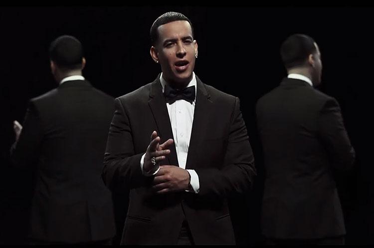 Daddy Yankee, video, La nueva y la ex