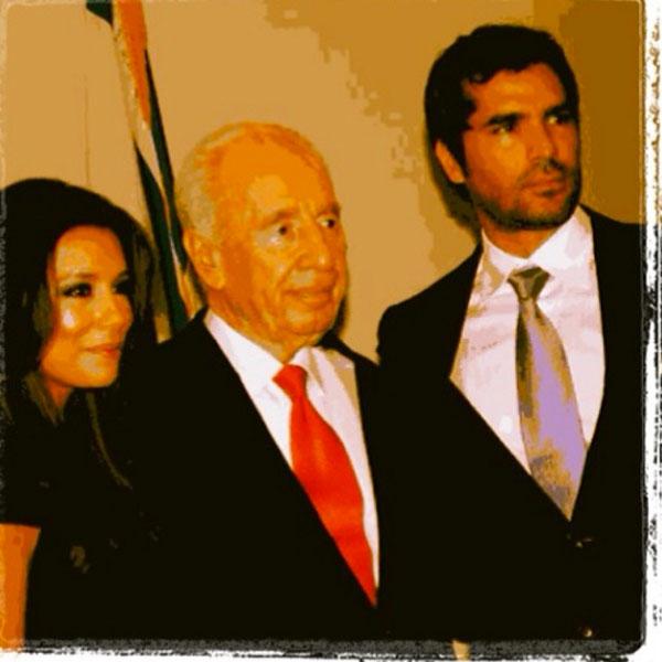 EDUARDO VERASTEGUI, Eva Longoria, Shimon Peres, sin filtro