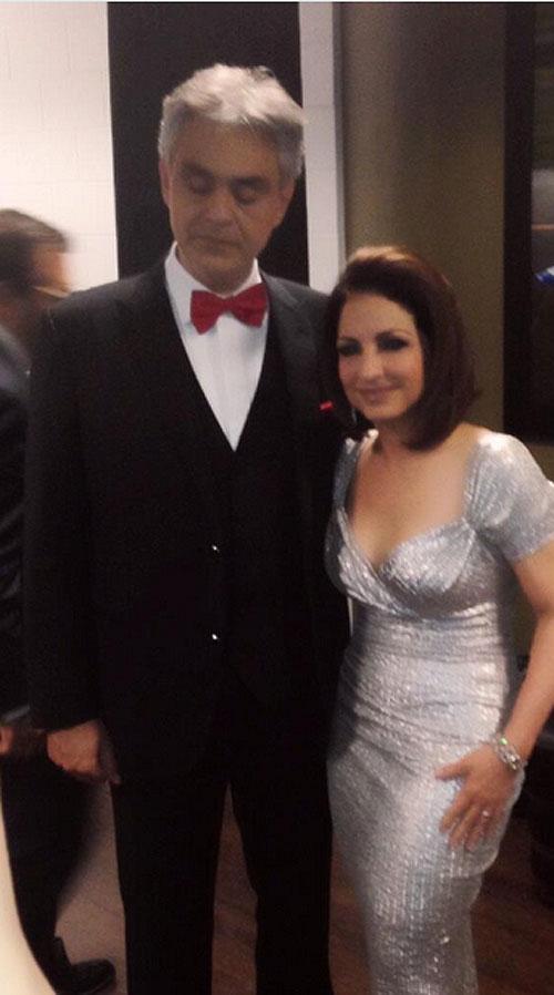 Gloria Estefan, Andrea Bocelli, Sin filtro
