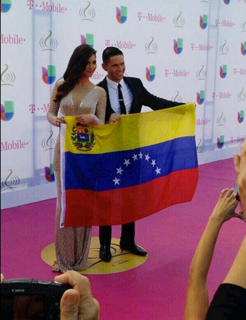 Chiquinquirá Delgado, Rodner Figueroa, Premio Lo Nuestro 2014, redes