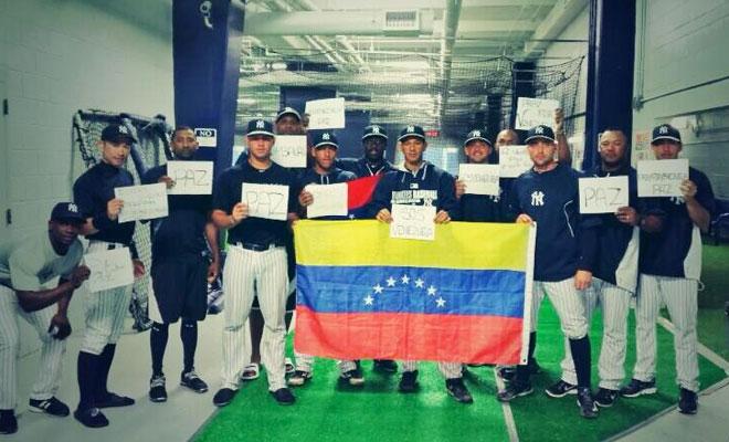 YANKEES DE NUEVA YORK, Venezuela