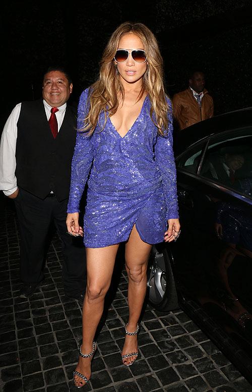 Jennifer Lopez, El look del día