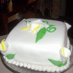 Betún para pastel de bodas