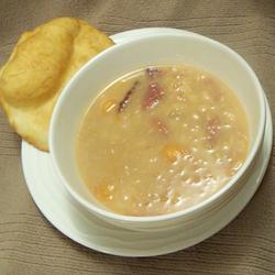Sopa de alubias sencilla