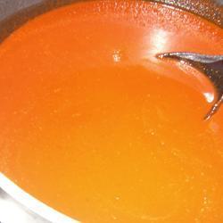 Salsa de dos chiles para enchiladas rojas