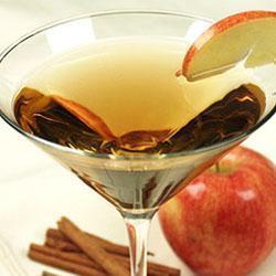 Martini de vodka y manzana