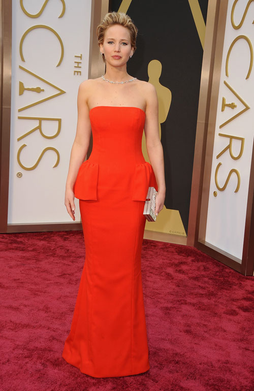 Jennifer Lawrence, Ellas Oscar 2014