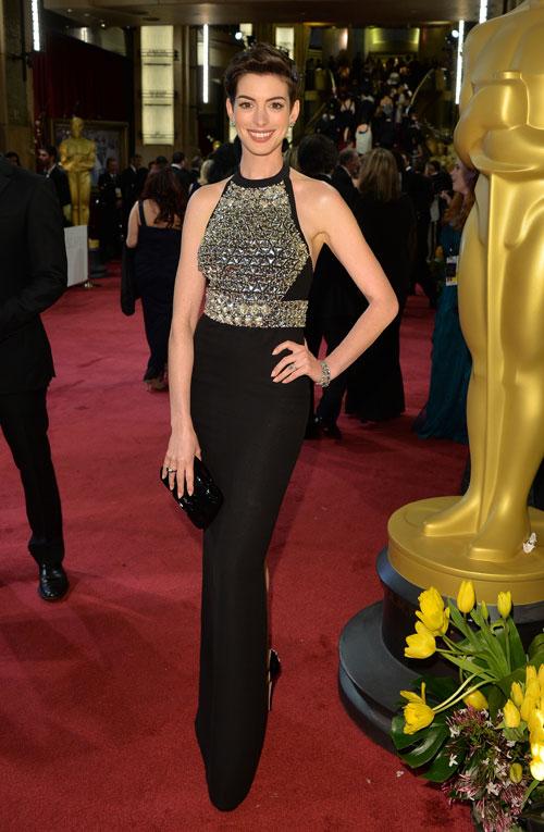 Anne Hathaway, Ellas Oscar 2014