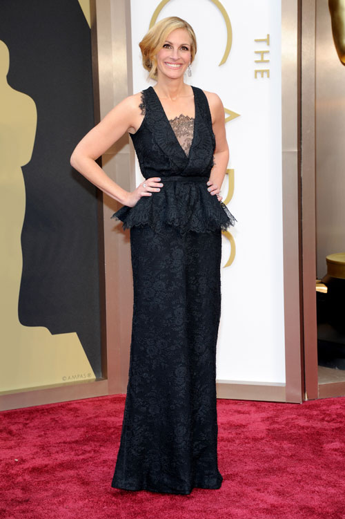 JULIA ROBERTS, Ellas Oscar 2014