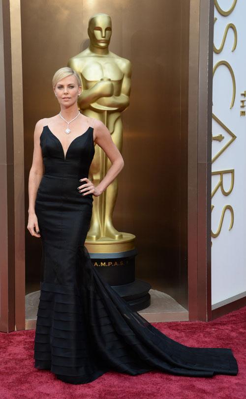 CHARLIZE THERON, Ellas, Oscar 2014