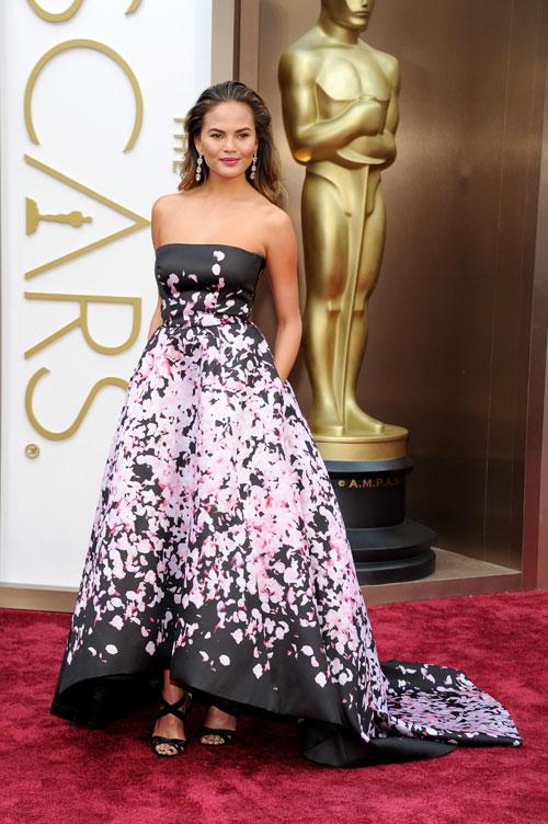 CHRISTINE TEIGEN, Ellas, Oscar 2014