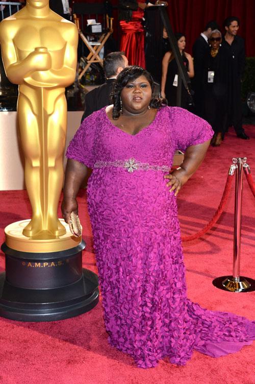 Gabourey Sidibe, Ellas, Oscar 2014
